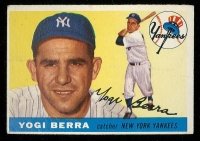 Yogi Berra 1955 Topps #198 at PristineAuction.com