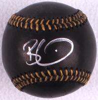 Barry Zito Signed Black Leather OML Baseball (JSA COA) at PristineAuction.com
