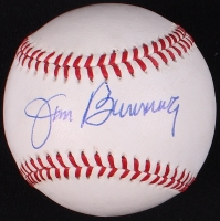 Jim Bunning Signed ONL Baseball (PSA COA) at PristineAuction.com