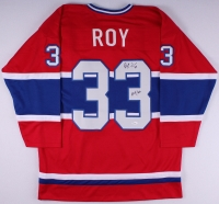 """Patrick Roy Signed Canadiens Jersey Inscribed """"HOF 06"""" (JSA COA) at PristineAuction.com"""
