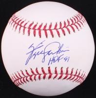 "Fergie Jenkins Signed OML Baseball Inscribed ""HOF 91"" (PA LOA) at PristineAuction.com"