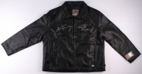"Henry Winkler Signed Replica ""Happy Days"" Black Leather Jacket Inscribed ""Fonz"" (PSA COA) at PristineAuction.com"
