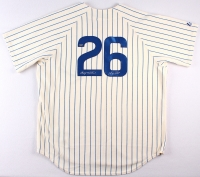 "Billy Williams Signed Cubs Jersey Inscribed ""HOF 87'' (Schwartz COA) at PristineAuction.com"