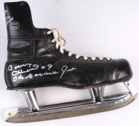 "Bobby Hull Signed Vintage 1960's Ice Skate Inscribed ""The Golden Jet"" (Schwartz COA) at PristineAuction.com"