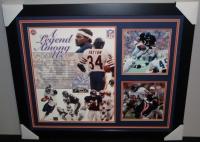 "Walter Payton Signed Bears 27x33 Custom Framed Photo Inscribed ""Sweetness"" & ""16,726"" (Payton COA) at PristineAuction.com"