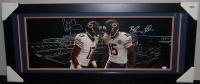 Brandon Marshall & Alshon Jeffery Signed Bears Custom Framed Panoramic Photo (JSA COA) at PristineAuction.com