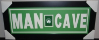 "Boston Celtics ""Man Cave"" 13x31 Custom Frame Display at PristineAuction.com"
