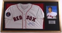 "Carl Yastrzemski Signed Red Sox 24x43 Custom Framed Jersey Display Inscribed ""HOF 89"" & ""TC 67"" (PSA COA) at PristineAuction.com"