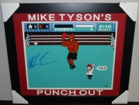 """Mike Tyson Signed """"Punch-Out!!"""" 23x27 Custom Framed Photo (Steiner COA) at PristineAuction.com"""