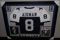 Troy Aikman Signed Cowboys 35x43 Custom Framed Jersey (JSA COA) at PristineAuction.com