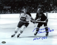 "Bobby Hull Signed Blackhawks 8x10 Photo Inscribed ""HOF 1983"" (Schwartz COA) at PristineAuction.com"