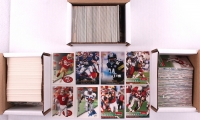 Lot of (3) Sets of Football Cards with 1995 Upper Deck, 1995 Skybox Impact, &1995 Score at PristineAuction.com