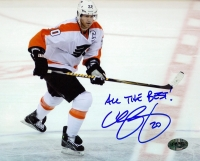 "Chris Pronger Signed Flyers 8x10 Photo Inscribed ""All The Best!"" (PA LOA) at PristineAuction.com"