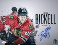 Bryan Bickell Signed Blackhawks 11x14 Photo (JSA COA) at PristineAuction.com