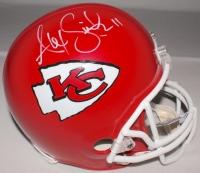 Alex Smith Signed Chiefs Authentic Pro Line Full-Size Helmet (JSA COA & Smith COA) at PristineAuction.com