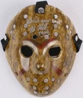 "Kane Hodder Signed Jason ""Friday the 13th"" Hockey Mask Inscribed ""Watch Your Back!"" & ""Jason"" (PA COA) at PristineAuction.com"