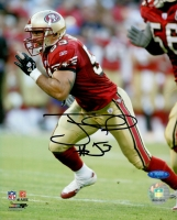 Jeff Ulbrich Signed 49ers 8x10 Photo (TriStar COA) at PristineAuction.com