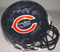 1985 Chicago Bears Team Signed Authentic Helmet Signed By (30) With Mike Ditka, Jim McMahon, Mike Singletary, Richard Dent (Schwartz COA) at PristineAuction.com