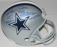 Randy White Signed Cowboys Full-Size Helmet with (5) Career Stat Inscriptions (PSA COA) at PristineAuction.com