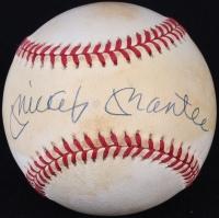 Mickey Mantle Signed OAL Baseball (UDA COA) at PristineAuction.com