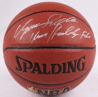 """Dominique Wilkins Signed Basketball Inscribed """"Human Highlight Film"""" (Schwartz COA) at PristineAuction.com"""