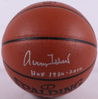 """Jerry West Signed Basketball Inscribed """"HOF 1980-2010"""" (PSA COA) at PristineAuction.com"""