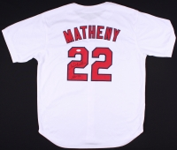 "Mike Matheny Signed Cardinals Jersey Inscribed ""John 3:16"" (JSA COA) at PristineAuction.com"
