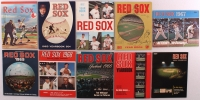 Lot of (10) 1960's Boston Red Sox Yearbooks at PristineAuction.com