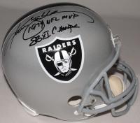 "Ken Stabler Signed Raiders Full-Size Helmet Inscribed ""1974 NFL MVP"" & ""SB XI CHAMPS"" (Radtke COA) at PristineAuction.com"