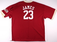 LeBron James Cavaliers Authentic Majestic Jersey (Size 3X) at PristineAuction.com