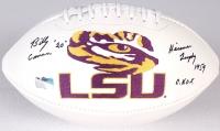 "Billy Cannon Signed LSU Logo Football Inscribed ""Heisman Trophy 1959 HOF"" (Radtke COA) at PristineAuction.com"