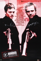 """Norman Reedus & Sean Patrick Flanery Signed """"The Boondock Saints"""" 24x36 Poster (Radtke COA) at PristineAuction.com"""