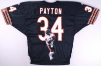 Walter Payton Signed Bears Hand-Painted Vintage Authentic Wilson Jersey 1/1 (PSA LOA) at PristineAuction.com