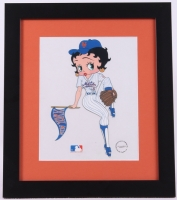 Betty Boop Chicago Cubs 13x15 Custom Framed Animation Sericel at PristineAuction.com