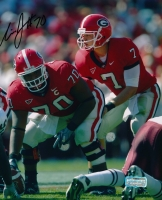 Nick Jones Signed Georgia 8x10 Photo (Radtke COA) at PristineAuction.com