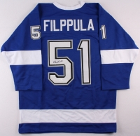 Valtteri Filppula Signed Lightning Jersey (JSA COA) at PristineAuction.com