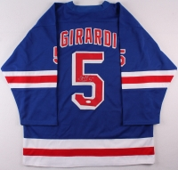 Daniel Girardi Signed Rangers Jersey (JSA COA) at PristineAuction.com