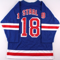 Marc Staal Signed Rangers Jersey (JSA COA) at PristineAuction.com
