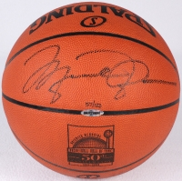 Michael Jordan Signed LE NBA HOF 50th Anniversary Official NBA Game Ball (UDA COA) at PristineAuction.com