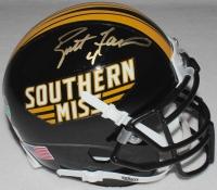 Brett Favre Signed USM Mini-Helmet (Favre COA) at PristineAuction.com