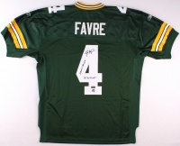 """Brett Favre Signed Packers Jersey Inscribed """"'95, '96, '97 MVP"""" & """"SBXXXI Champs"""" (Favre COA) at PristineAuction.com"""