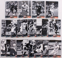 Complete Set (22) Panini Americana Heroes & Legends Soccer Cards with Abby Wambach, Alex Morgan, Hope Solo, Carli Lloyd at PristineAuction.com