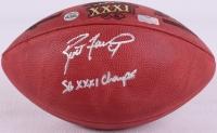 "Brett Favre Signed Official NFL Super Bowl XXXI Game Ball Inscribed ""SB XXXI Champs"" (Favre COA & Radtke COA) at PristineAuction.com"
