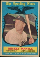 Mickey Mantle 1959 Topps #564 at PristineAuction.com