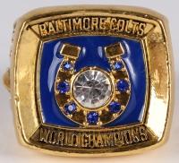 Baltimore Colts High Quality Replica 1970 Super Bowl V Ring at PristineAuction.com