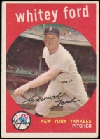 Whitey Ford 1959 Topps #430 at PristineAuction.com
