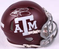 Johnny Manziel Signed Texas A&M Mini-Helmet (Panini COA) at PristineAuction.com