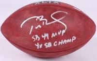 "Tom Brady Signed Super Bowl XLIX Official Game Ball Inscribed ""SB 49 MVP"" & ""4X SB Champ"" (TriStar COA) at PristineAuction.com"