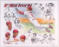 Artist E. West Signed 16x20 RedBird Fever '04 LE Lithograph (PA LOA) at PristineAuction.com