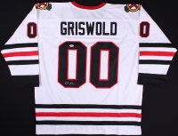 """Chevy Chase Signed """"Griswold"""" Blackhawks Jersey (PSA COA) at PristineAuction.com"""